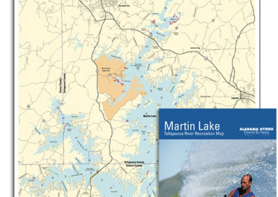 Alabama Lake Maps