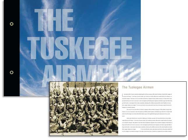 Tuskegee Airman Brochure