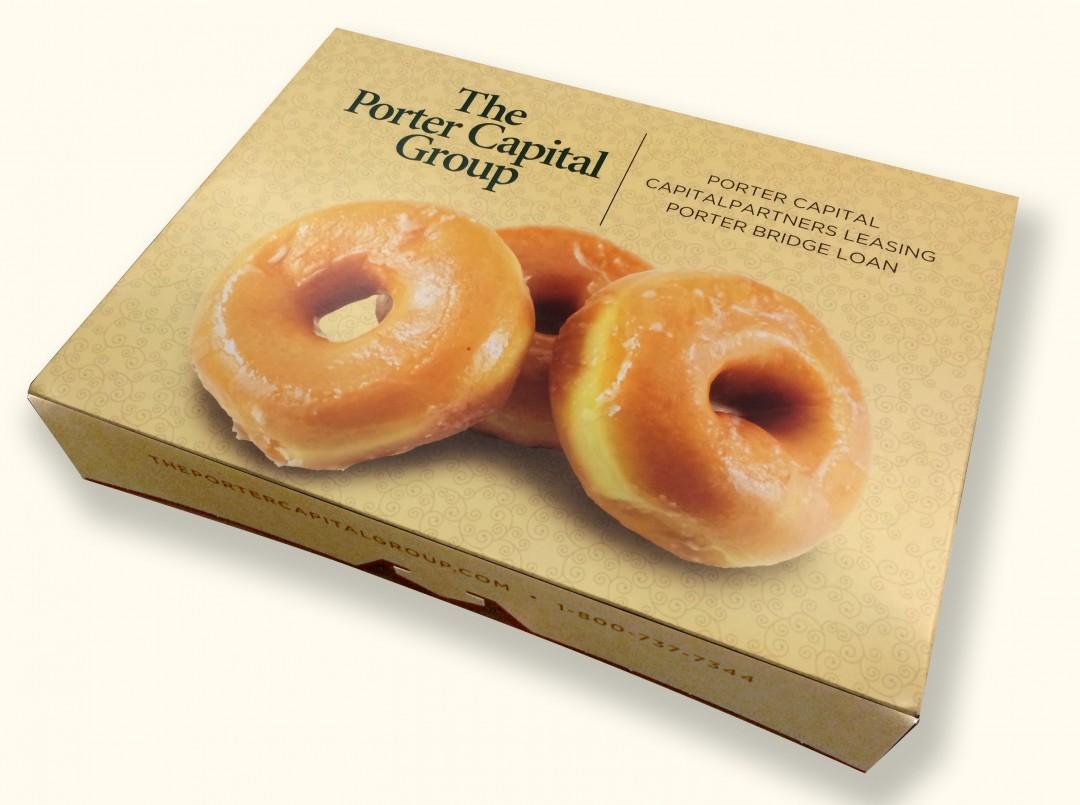 Porter Capital Doughnut Box