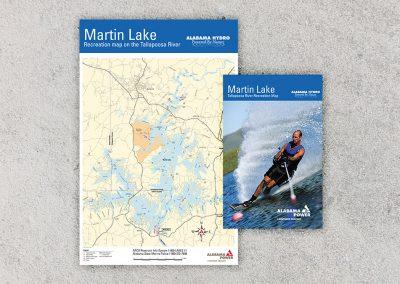 Alabama Lake Maps