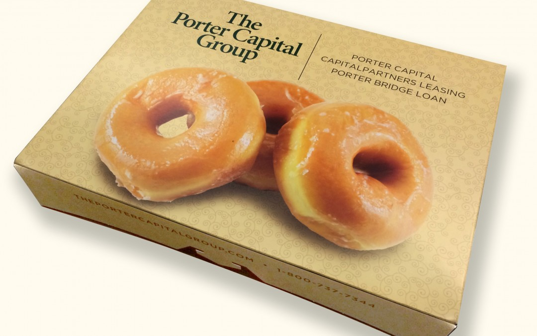 Porter Capital Doughnut Box