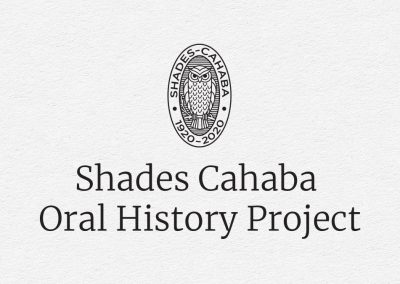 Shades Cahaba Oral History Project Logo