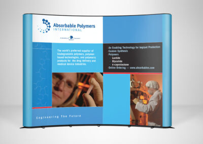 Absorbable Polymers Display