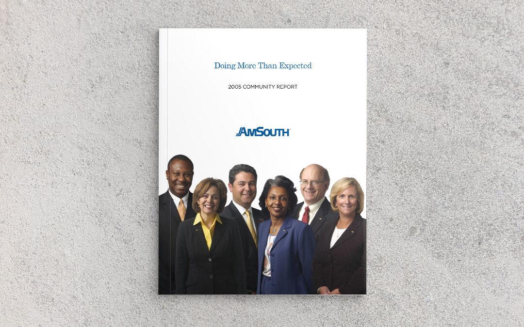 AmSouth Community Report 2005