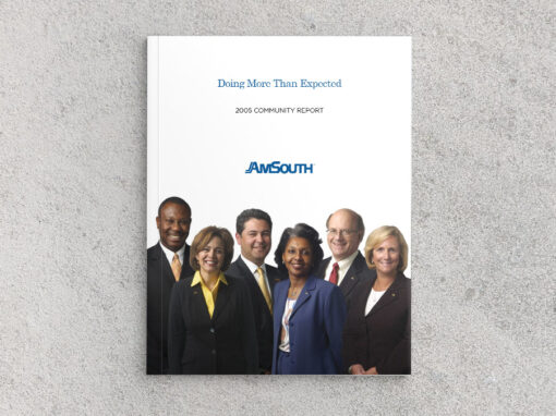 AmSouth Community Report 2005