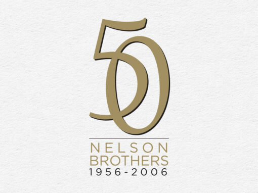 Nelson Brothers 50th Anniversary Logo