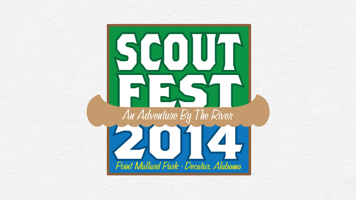 ScoutFest 2014 logo