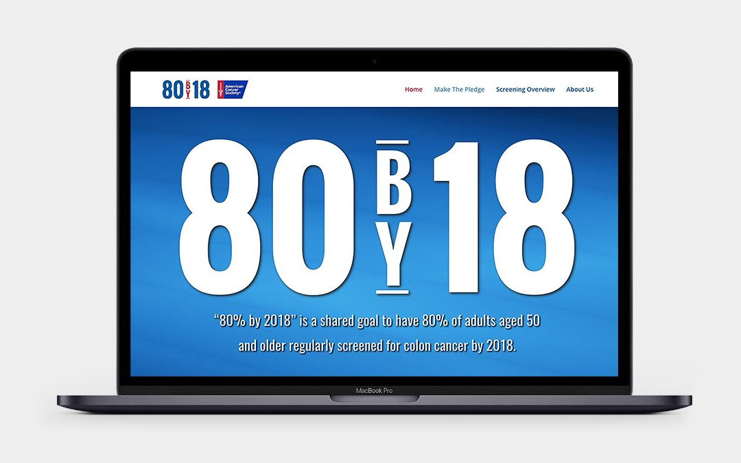 80 by 18 Website