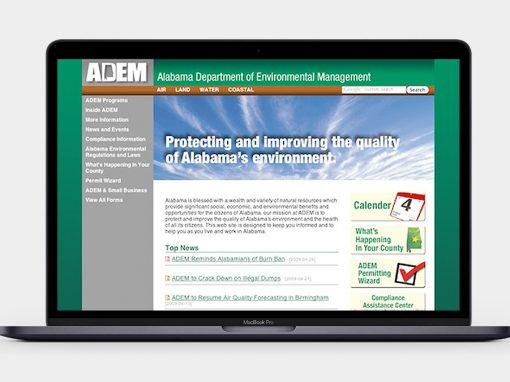 ADEM Website
