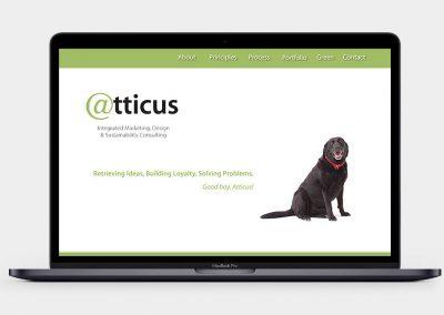 Atticus Communications Website