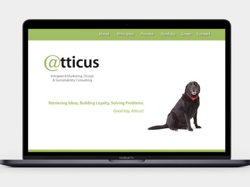 Atticus Communications Website