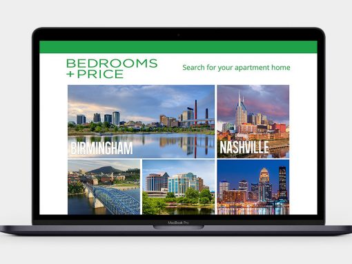 Bedrooms and Price Website