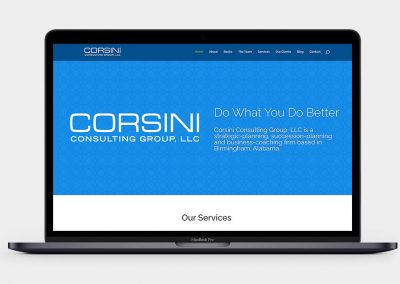Corsini Consulting Group Website