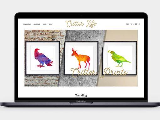 Critter Life Website