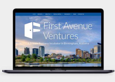 First Avenue Ventures Website