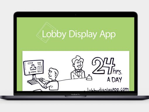 Lobby Display App Website