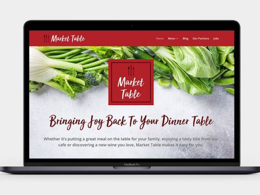 Market Table Website