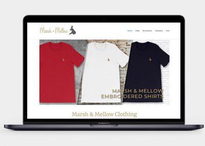 Marsh & Mellow Clothing Website