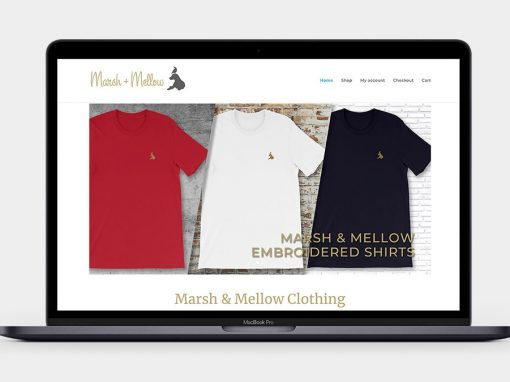 Marsh & Mellow Clothing Website
