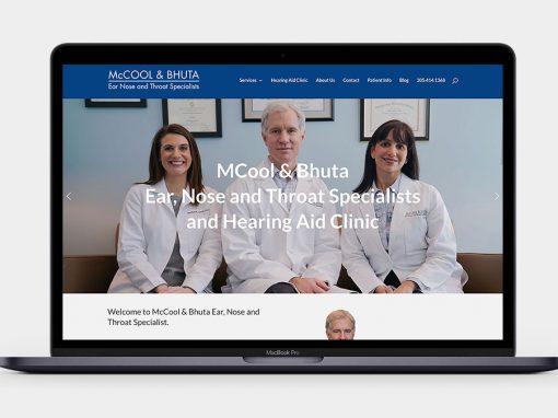McCool & Bhuta ENT Website