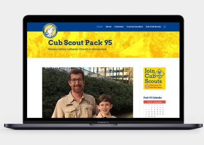 Pack 95 Homewood Website