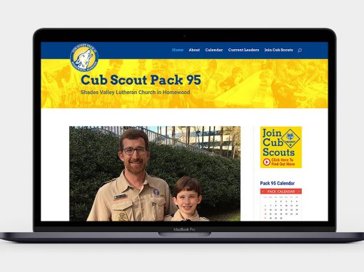 Pack 95 Homewood Website