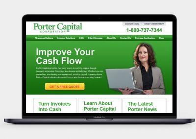 Porter Capital Website