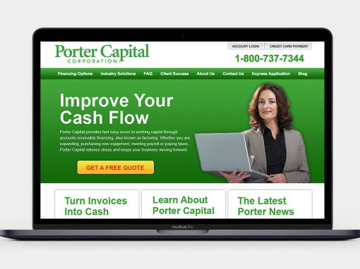 Porter Capital Website