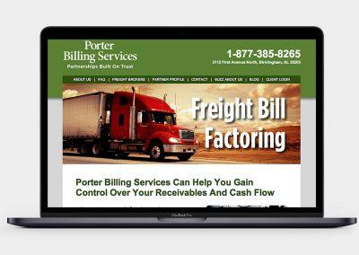 Porter Billing Services Website