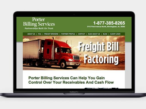 Porter Billing Services Website