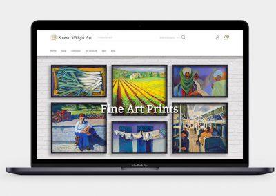 Shawn Wright Art Website