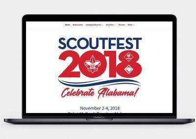 ScoutFest Website