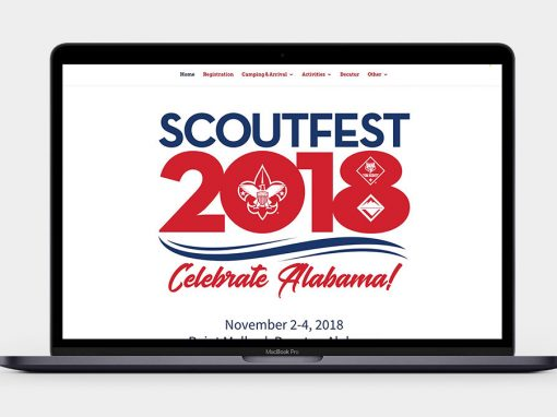 ScoutFest Website