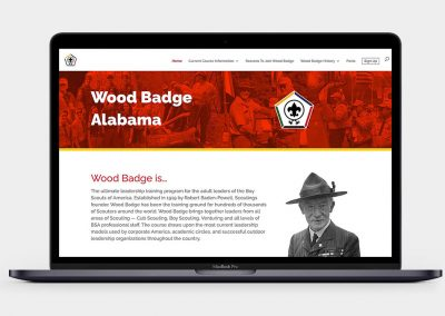 Wood Badge Alabama Website