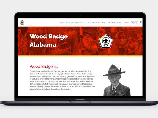 Wood Badge Alabama Website