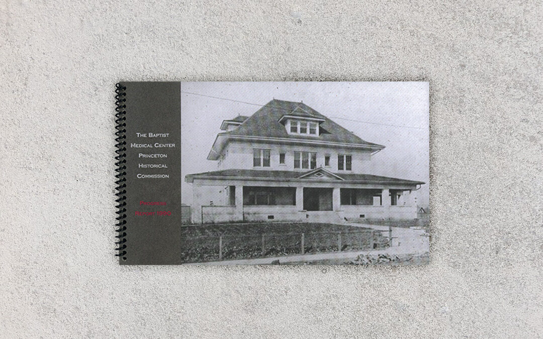 Princeton Historical Commission 1990 Annual Report