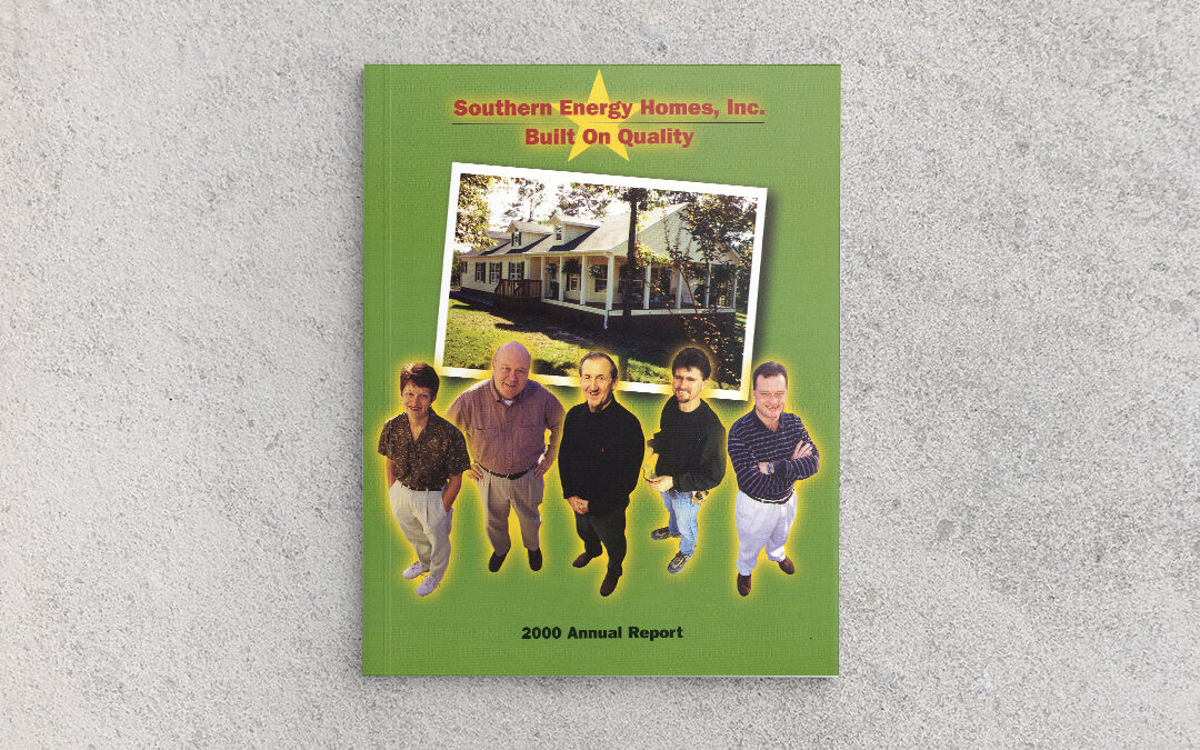 Southern Energy Homes 2000 Annual Report