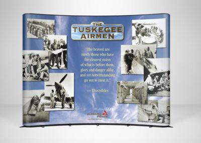 Tuskegee Airman Display