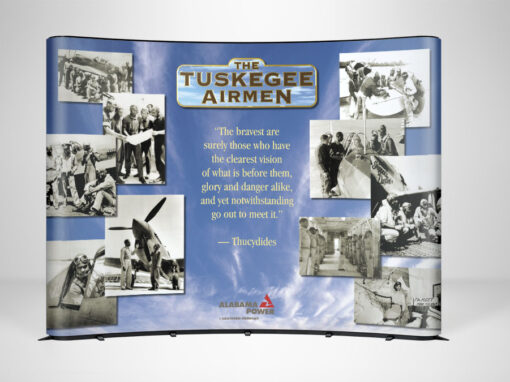 Tuskegee Airman Display