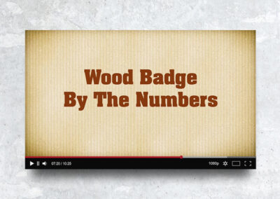 Wood Badge By The Numbers