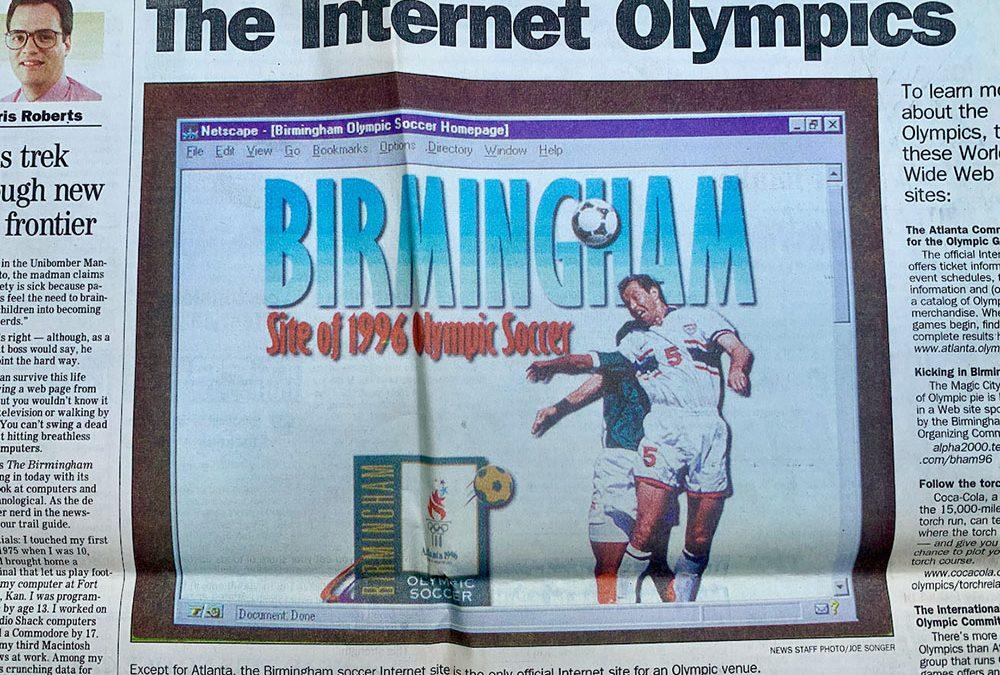 The Internet Olympics 1996